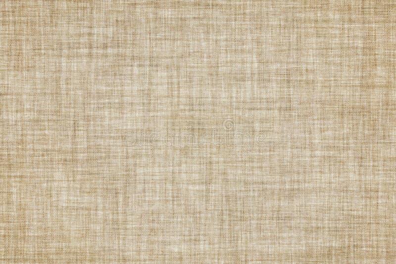Le beige a coloré le fond de toile sans couture de texture ou de vintage illustration libre de droits
