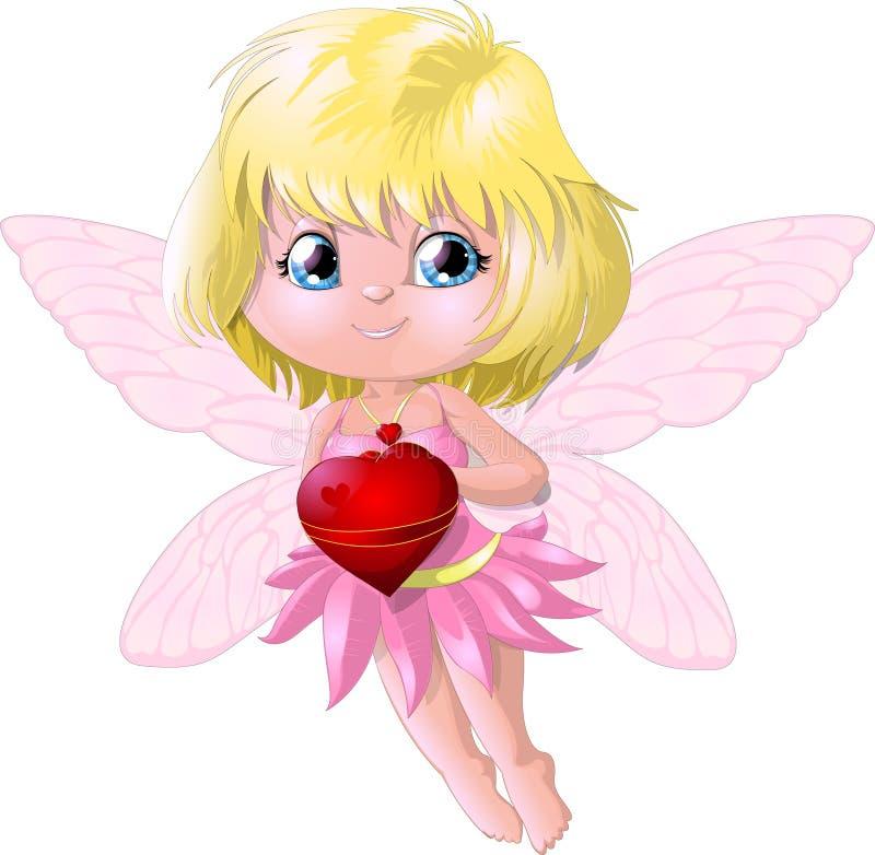 Le bel ange illustration stock