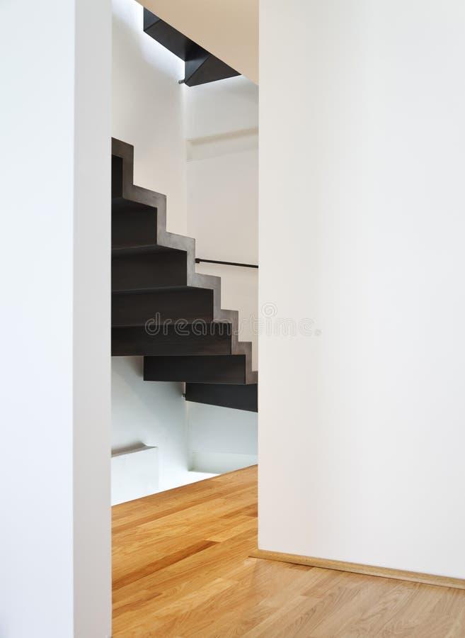 Le bel appartement moderne, loft le duplex image libre de droits