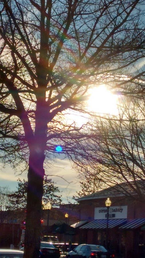 le bel hiver de jour image libre de droits