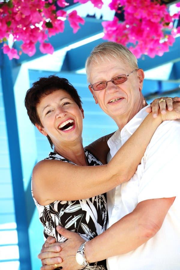 le belle coppie amano maturo fotografia stock