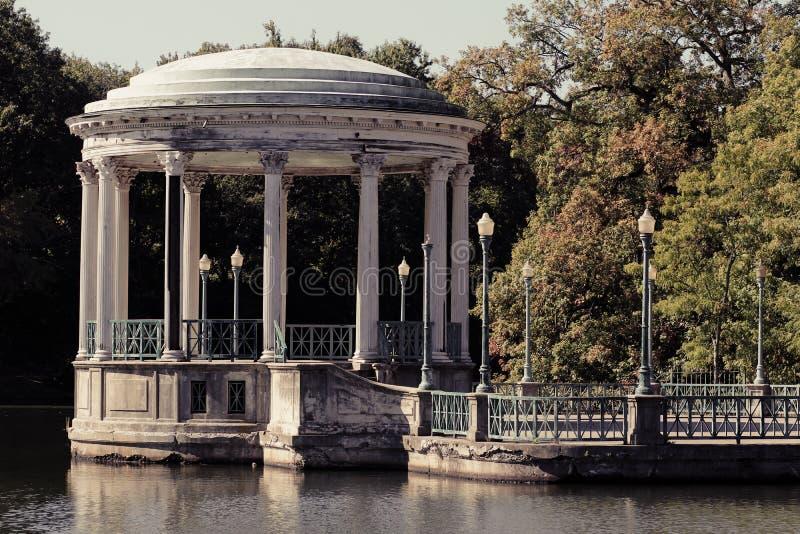 Le belvédère, Roger Williams Park image stock