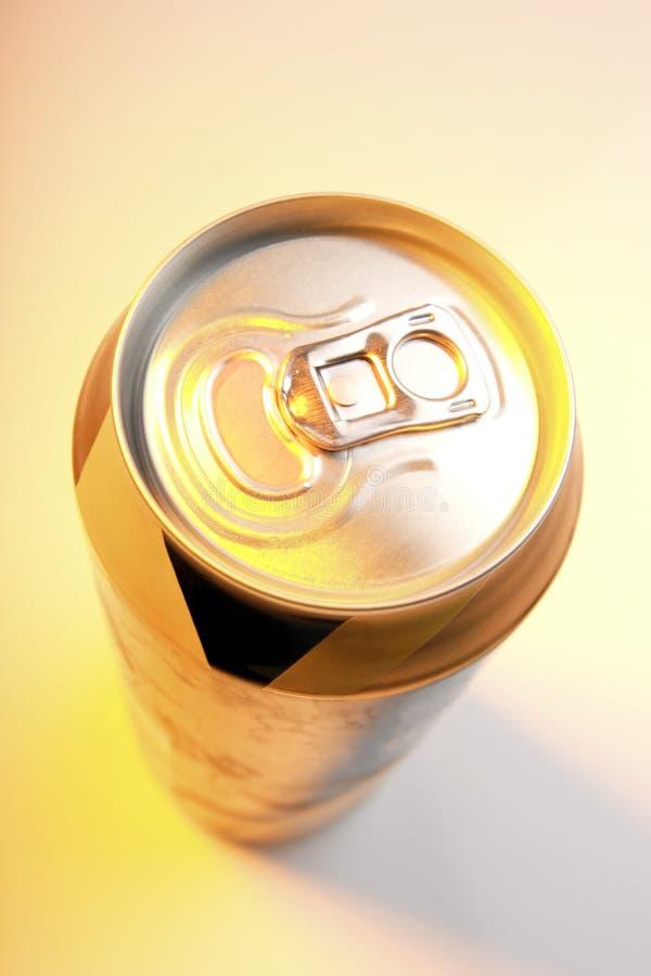 Le bevande possono fotografie stock libere da diritti