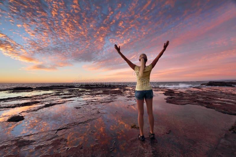 Le bien-être de bien-être célèbre la vie photographie stock