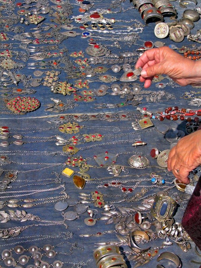 le bijou de bazar objecte oriental photos libres de droits