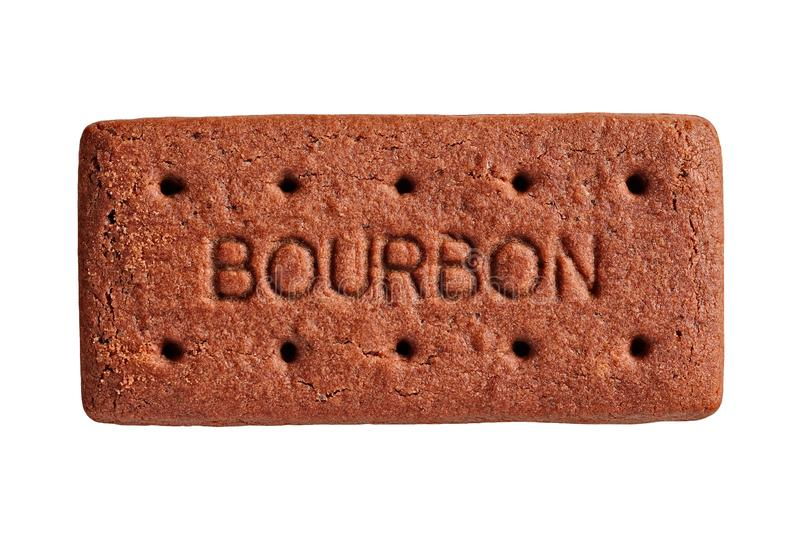 Le biscuit de Bourbon, a coupé images libres de droits