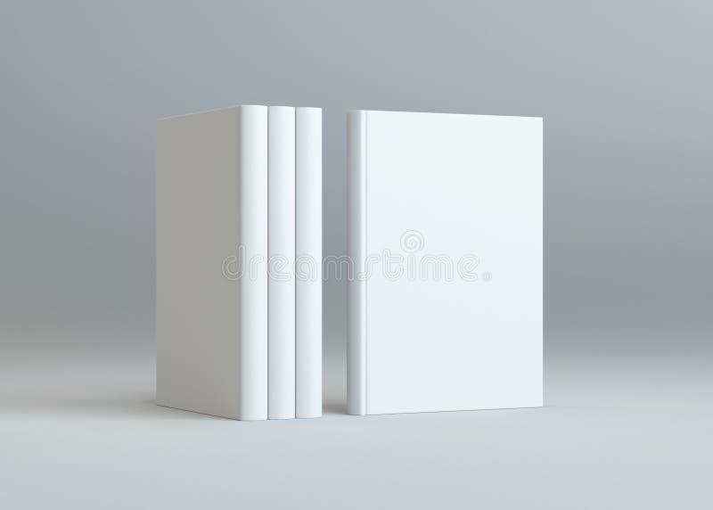 Le blanc réserve la maquette avec l'ombre images stock