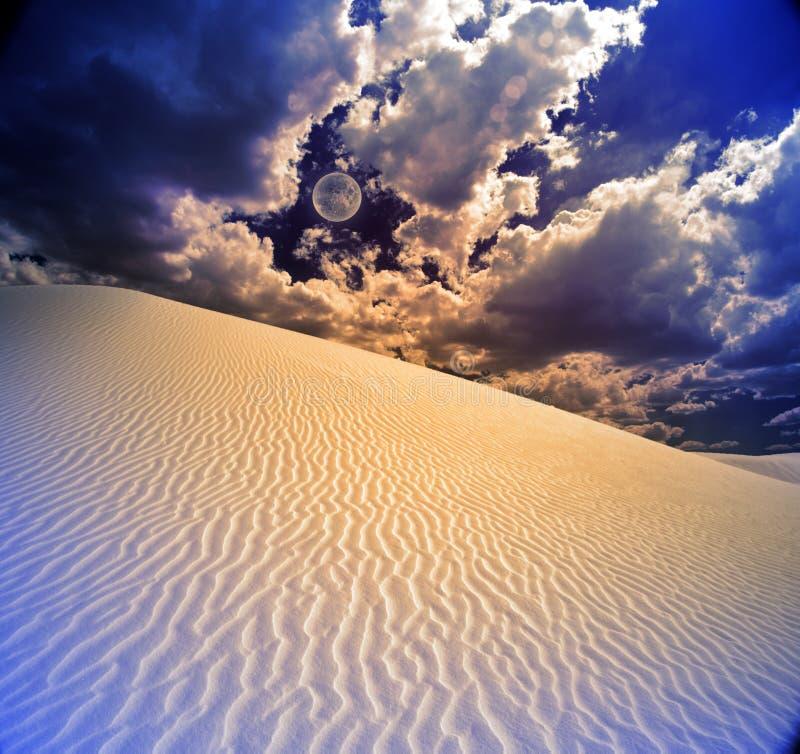 Le blanc sable le Mexique Etats-Unis images stock