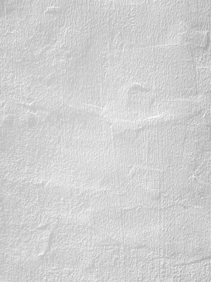 Le blanc sans joint a peint la texture/fond de mur en béton photo libre de droits