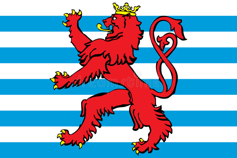 le blason Luxembourg diminuent
