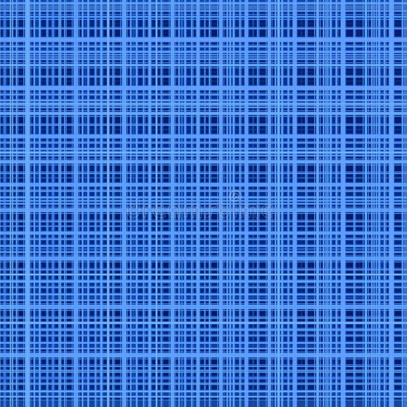 Le bleu colore le fond abstrait de réseau. illustration de vecteur
