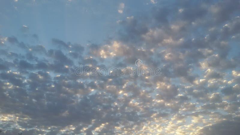 Le bleu de ciel photo libre de droits