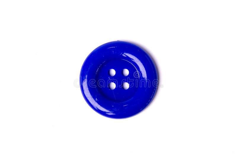 Le bleu de vue supérieure colore de grands boutons photographie stock libre de droits
