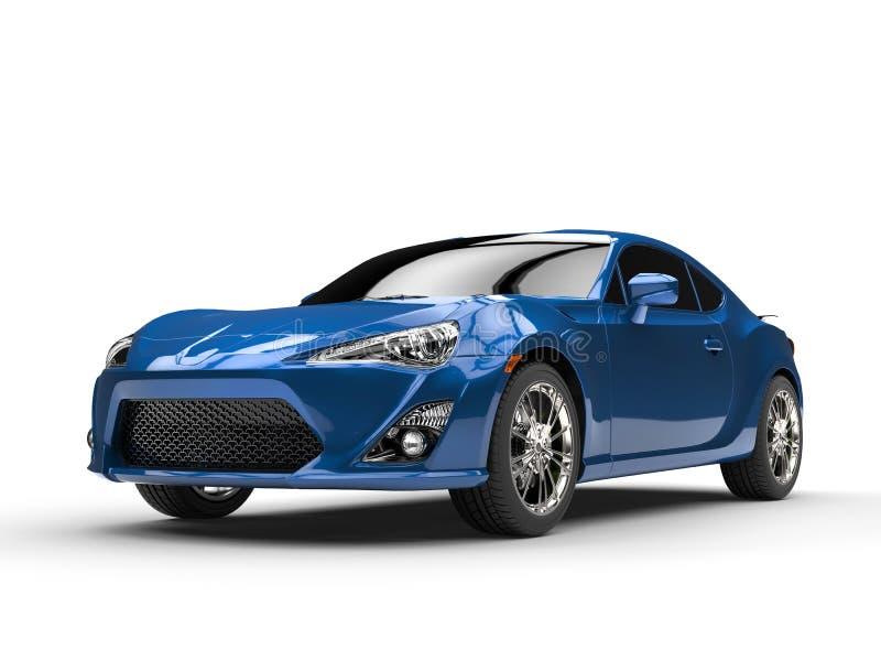 Le bleu générique folâtre le tir automobile de studio illustration libre de droits