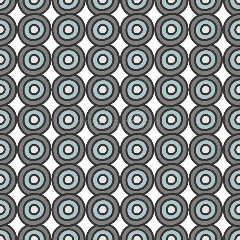 Le bleu gris entoure la configuration sans joint illustration de vecteur