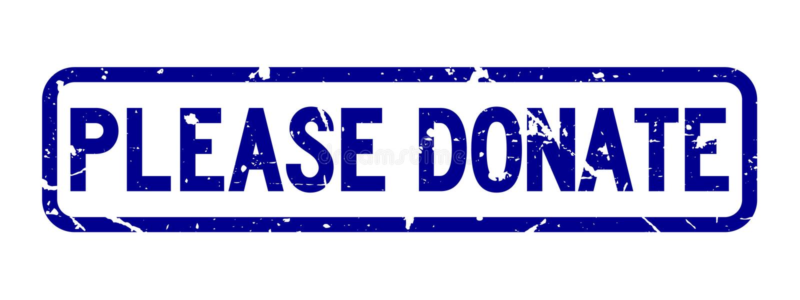 Le bleu grunge donnent svp le tampon en caoutchouc de place de libellé sur le fond blanc illustration libre de droits