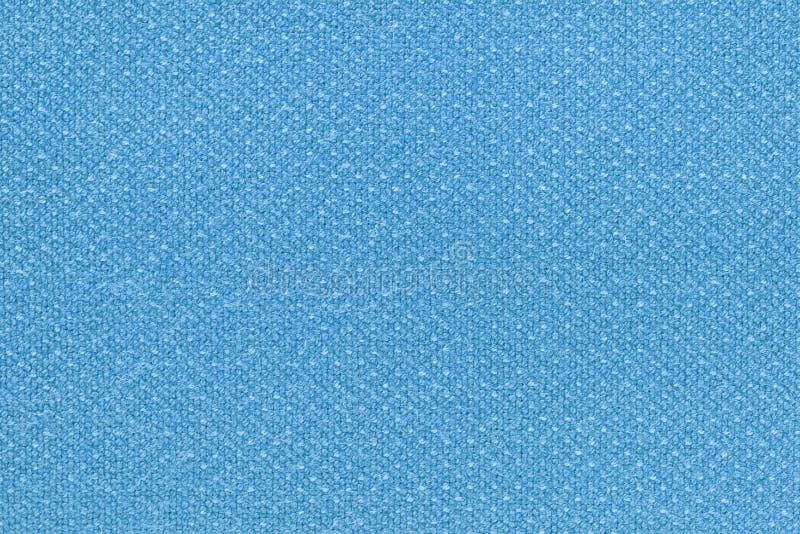 Le bleu a lavé la texture de tapis, fond blanc de texture de toile de toile photographie stock libre de droits