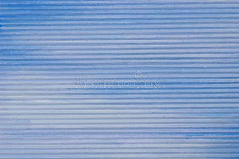 Le bleu a peint la texture de papier ondulée de fond photo libre de droits