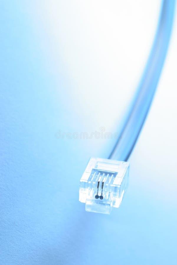 Le bleu se connectent photos libres de droits