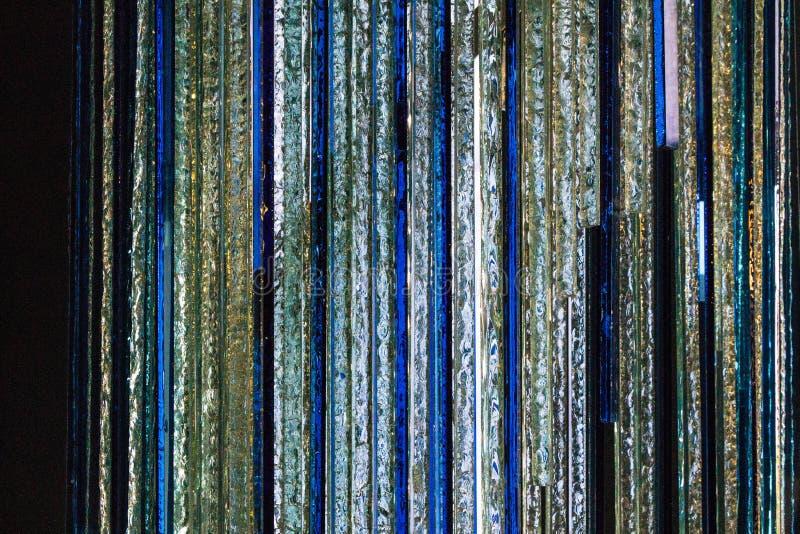 Le bleu se reflète photographie stock libre de droits