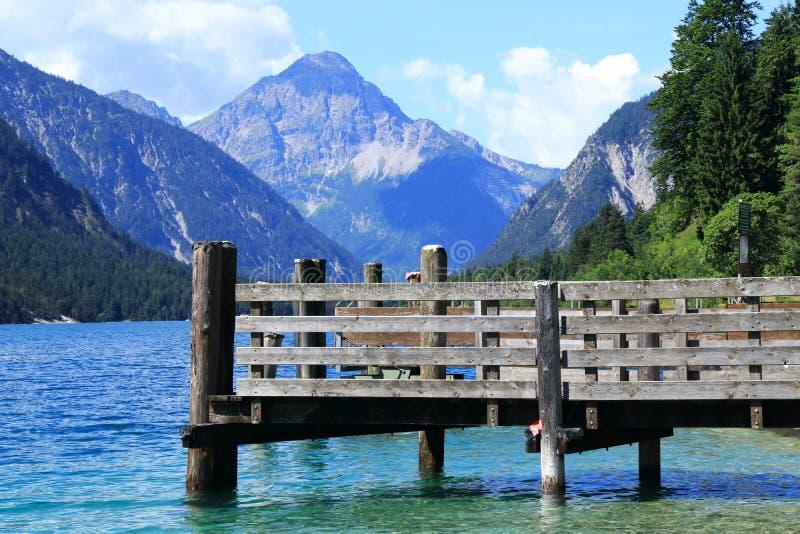 Le Bodensee ou le Lac de Constance, pays Autriche image stock