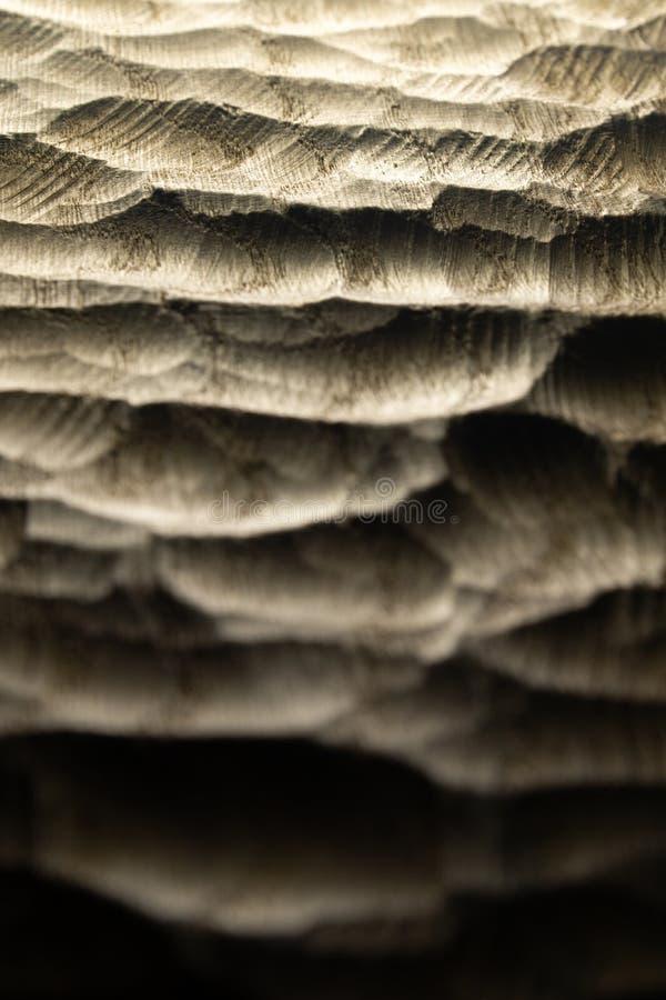 Le bois d?coup? ondule la texture, fond Surface en bois d?coup?e crue pour le fond abstrait Vagues r?tro-?clair?es en bois de mer photos libres de droits