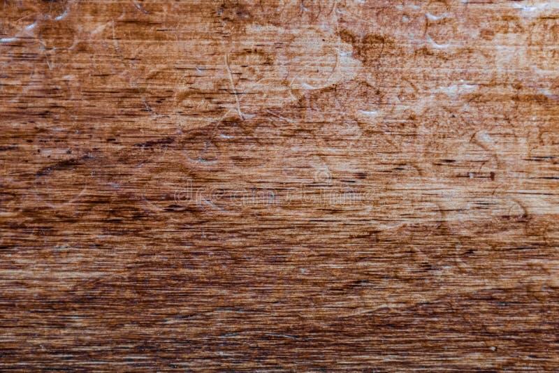 Le bois texturisé avec de l'eau laisse tomber le fond approximatif de texture images libres de droits