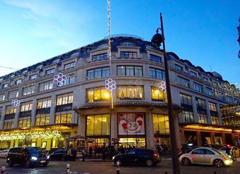 Le Bon Marché - un magasin à Paris images libres de droits