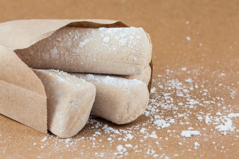 Le bonbon colombien traditionnel a appelé la gelée blanche de jambe de vache photos libres de droits