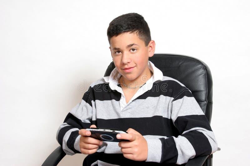 Le bonheur est des jeux vidéo photos libres de droits