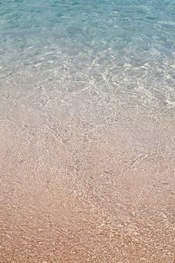 Le bord de l plage  imagem de stock