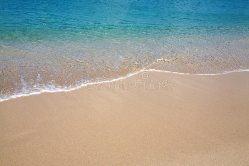 Le bord de l plage  royaltyfria bilder