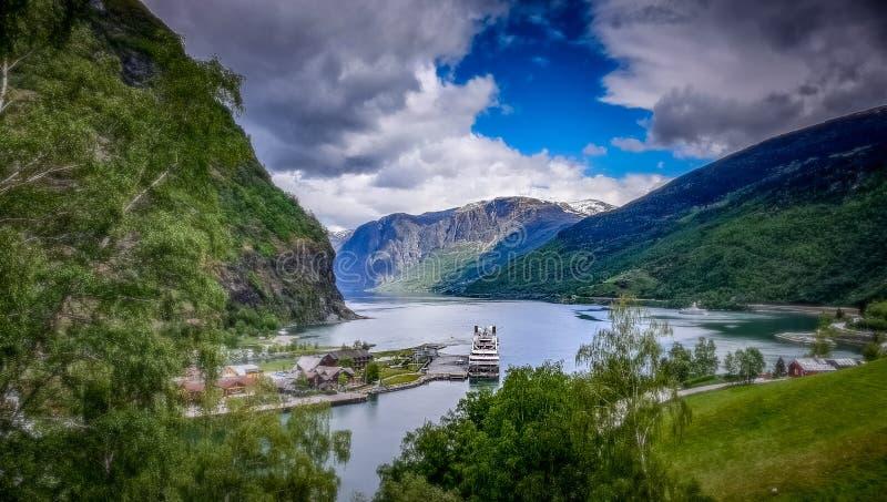 Le Boreal - Flam Norwegen stockbild