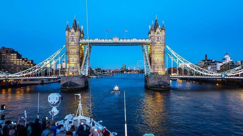 Le Boreal - London-Brücke stockfotografie
