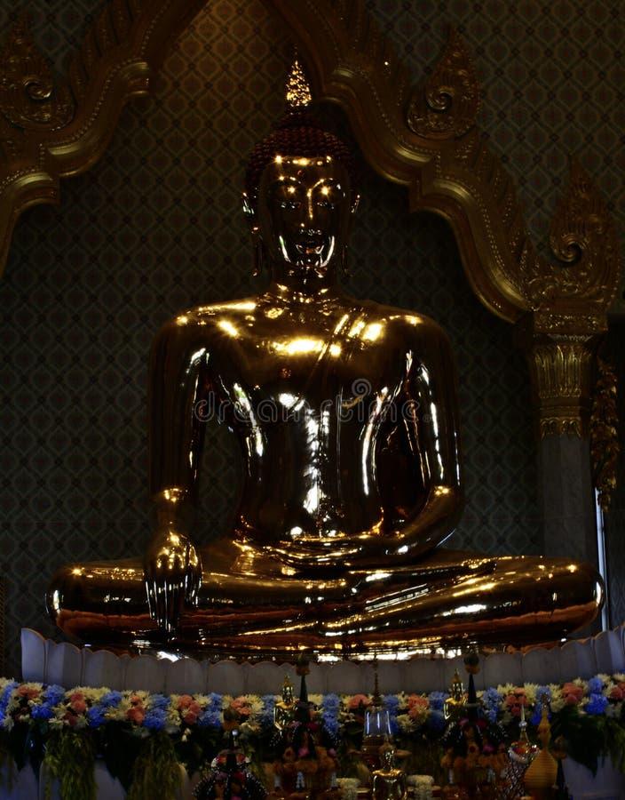 Le Bouddha d'or image libre de droits