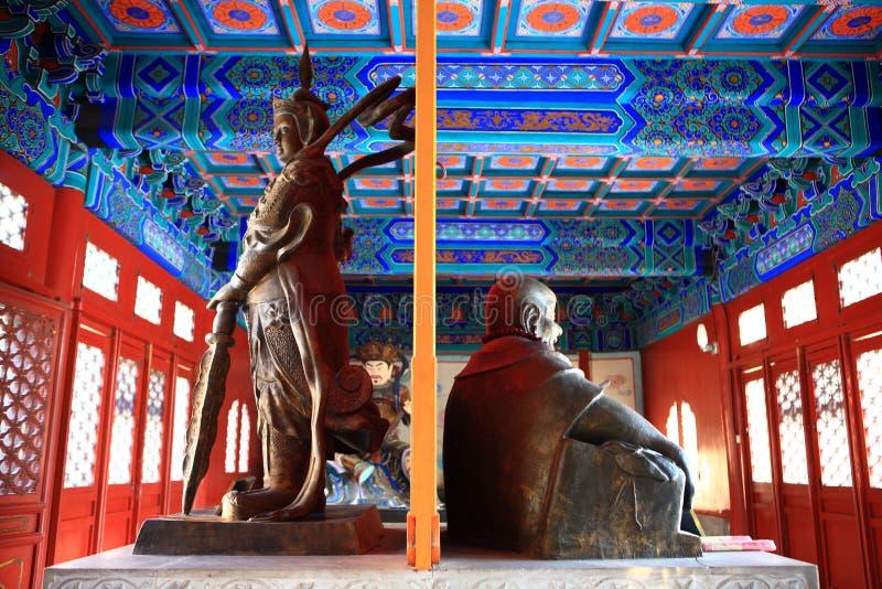 Le Bouddha en stationnement de BeiHai photo stock