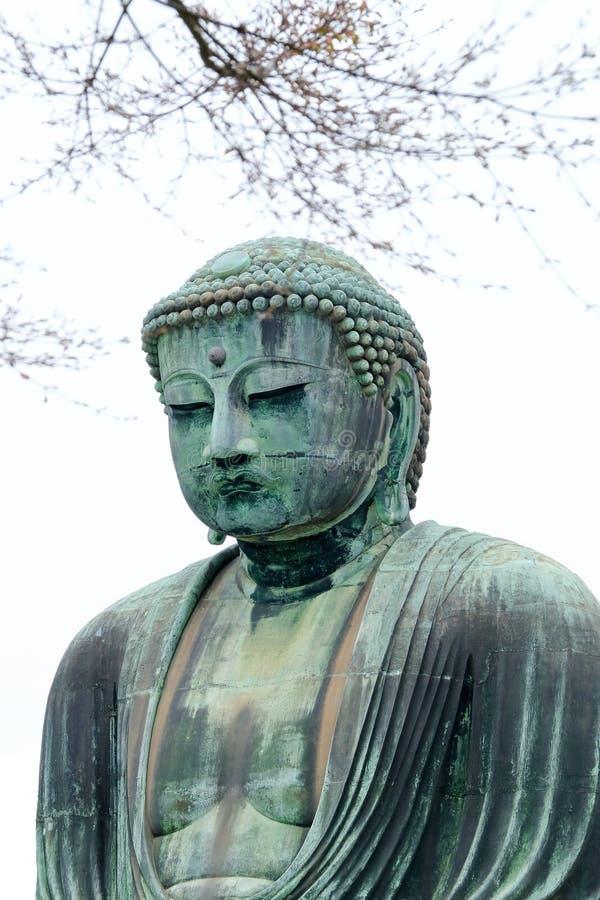 Le Bouddha grand de Kamakura image libre de droits