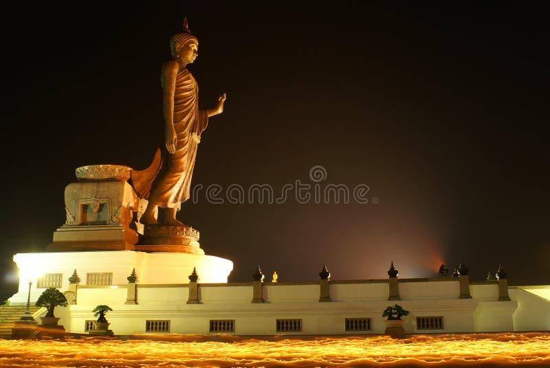 Le Bouddha sur l'incendie IV image libre de droits