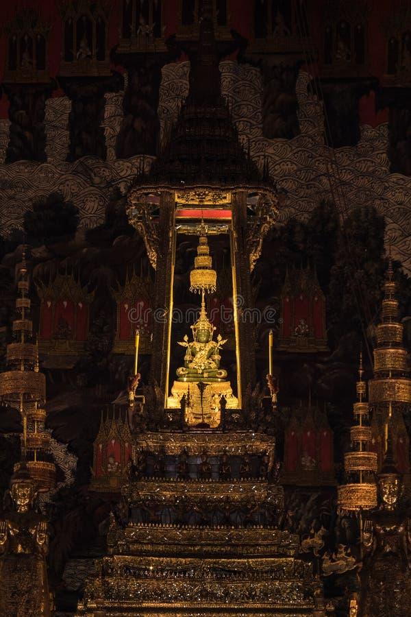 Le Bouddha vert photo libre de droits