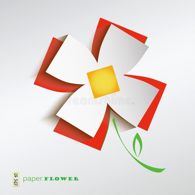 Le bouganvilla de papier de Flower illustration libre de droits