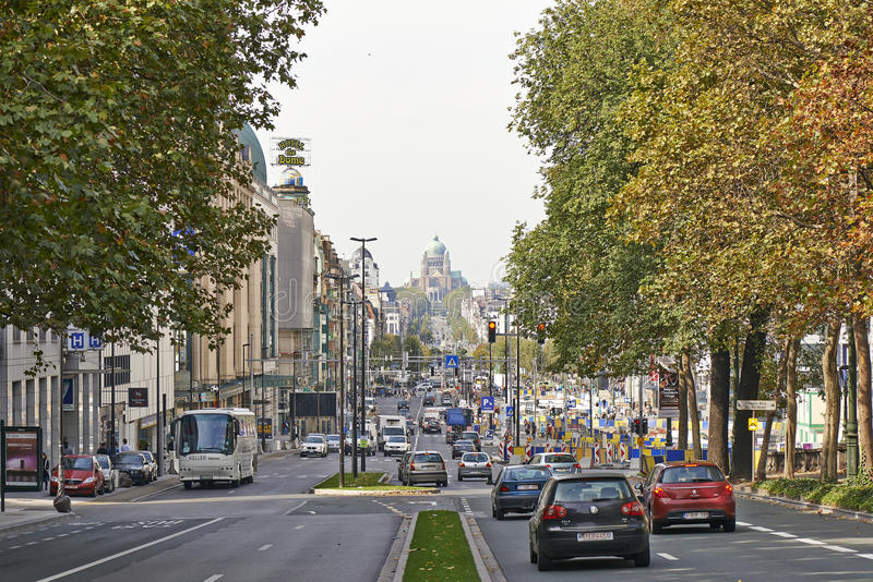 Le boulevard du jardin botanique image ditorial image for Boulevard jardin botanique