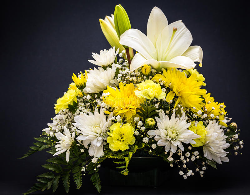 le bouquet fleurit le vecteur d'illustration image stock