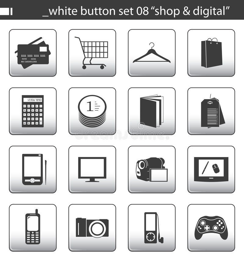 Le bouton blanc a placé 08