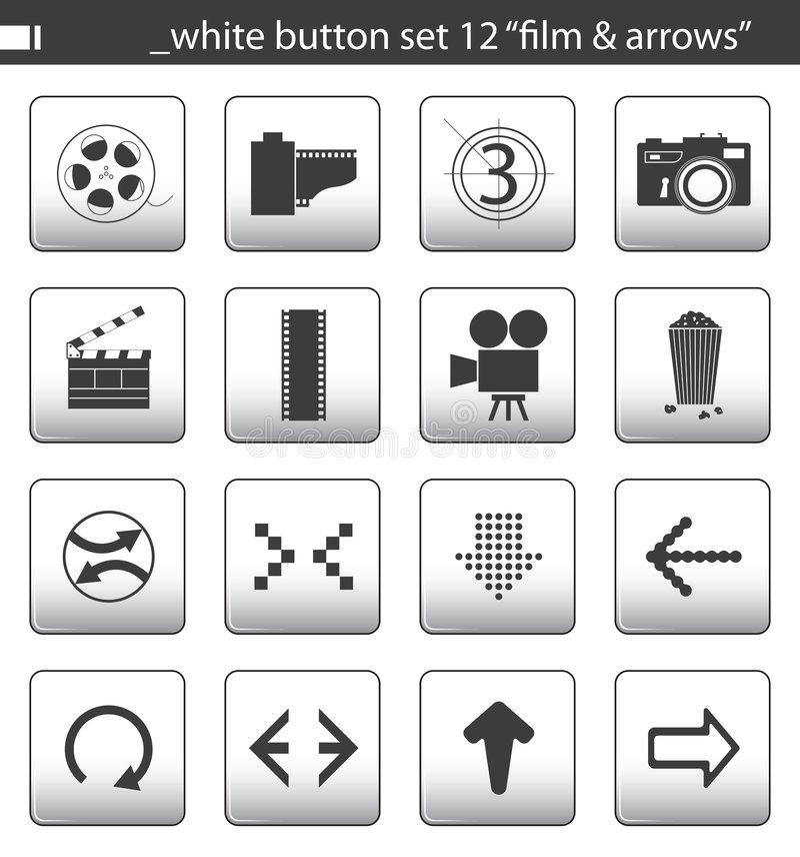 Le bouton blanc a placé 12