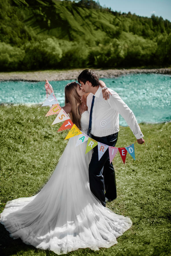 Le brölloppar arkivbilder