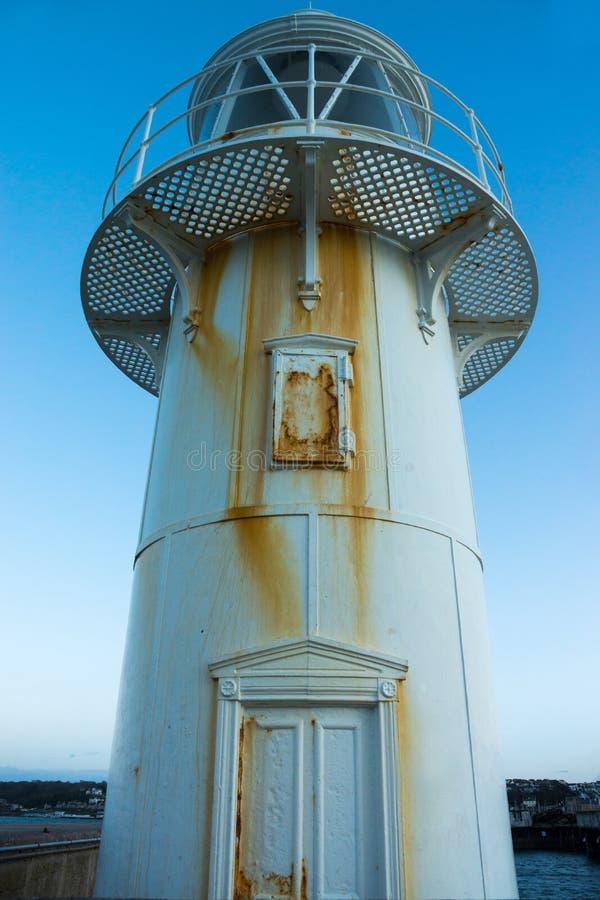 Le brise-lames de Brixham en Devon, R-U images libres de droits