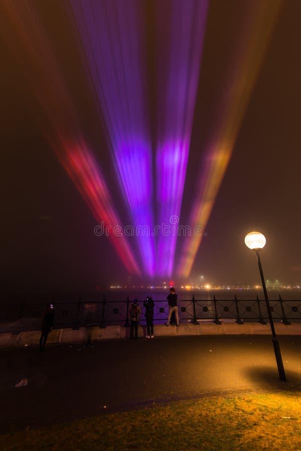 Le Brouillard Enveloppe Quay Circulaire à Sydney. Image stock éditorial