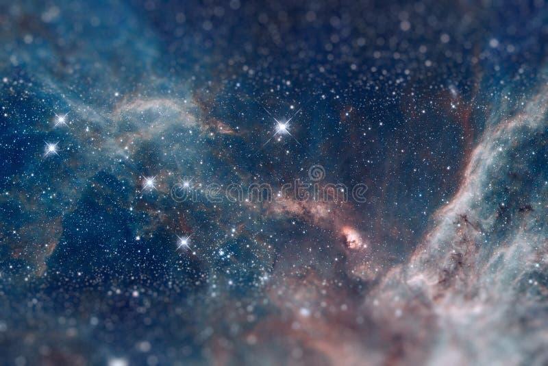 Le bugie di Doradus di regione 30 nella galassia della Grande Nube di Magellano illustrazione di stock