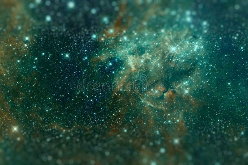 Le bugie di Doradus di regione 30 nella galassia della Grande Nube di Magellano illustrazione vettoriale