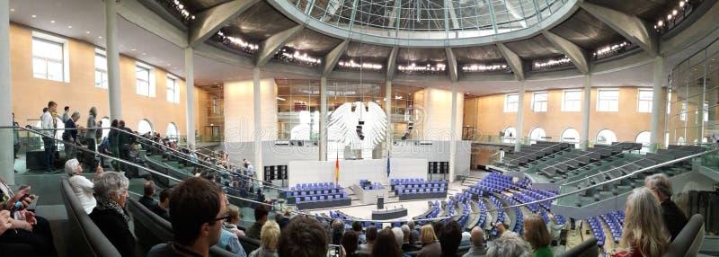 Le Bundestag photographie stock